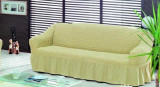 Husa canapea 2 locuri bumbac elasticizat OFERTA