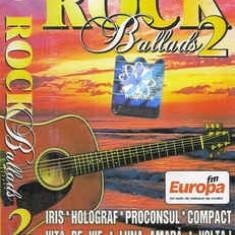 Caseta Rock Ballads 2, originala, selectie romaneasca