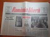 ziarul romania libera 7 ianuarie 1990-articole despre revolutie