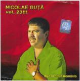 CD Nicolae Guță – Bun Venit În România (Nicolae Guță Vol. 23!!!), manele