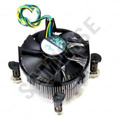 Cooler procesor LGA 775 Intel, Miez Cupru, Mufa 4 fire, PWM