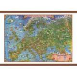 Europa harta pentru copii, cu sipci, 1000x700mm (GHECP100)