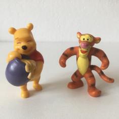 Lot 2 figurine Bully Winnie the Pooh / Tigger, Germany, 7 cm, cauciuc