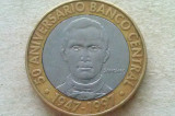 MONEDA 5 PESOS 1997-REPUBLICA DOMINICANA