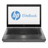 Laptop HP EliteBook 8470p, Intel Core i5-3210M 2.50GHz, 8GB DDR3, 120GB SSD, DVD-RW, 14 inch