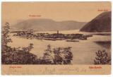 #2333- Romania, Ada Kaleh, Orsova, carte postala circulata 1909:  Panorama