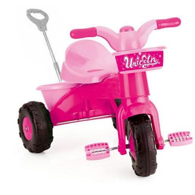 Tricicleta cu maner My First Trike Unicorn - Dolu foto