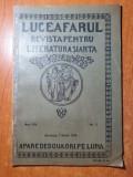 luceafarul 1 martie 1919- revista este plina de articole si foto george cosbuc