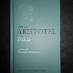 ARISTOTEL - FIZICA (2018, editie cartonata)