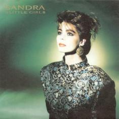 """Sandra - Little Girl (1986, Virgin) Disc vinil single 7"""""""