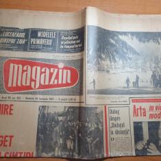 magazin 21 ianuarie 1967-articol orasul iasi,fondul muzeal ploiesti