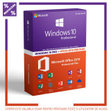 Licenta Windows 10 PRO + OFFICE 2019 PRO PLUS + AVAST PREMIUM, Microsoft