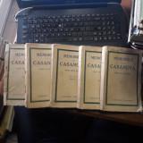 Memoriile lui Casanova scrise de el insusi-5 volume-prima editie