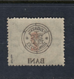 ROMANIA 1919 - CLUJ ORADEA  PORTO 2 BANI EROARE ABKLATSCH  MNH BODOR, Nestampilat