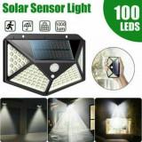 Cumpara ieftin Lampa solara 100 LED-uri cu senzor de miscare