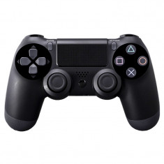 Controller cu fir PS4 Doubleshock, Negru foto