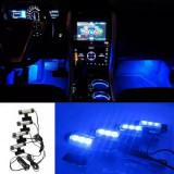 Lumini ambientale masina TY-780, auto, interior, LED, culoare ICE Blue