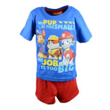 Pijama vara baieti E Plus M Paw Patrol PAW 52 04 650, Multicolor