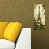 Tablou decorativ multicanvas Allure, 2 Piese, Turnul Eiffel, 221ALL1901, Multicolor