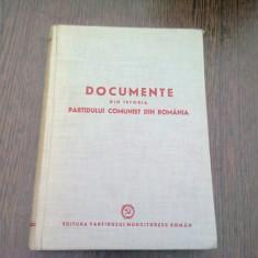 DOCUMENTE DIN ISTORIA PARTIDULUI COMUNIST DIN ROMANIA