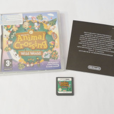Joc consola Nintendo DS - Animal Crossing Wild World