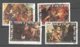 Sao Tome e Principe 1988 Paintings, Religion, used M.269