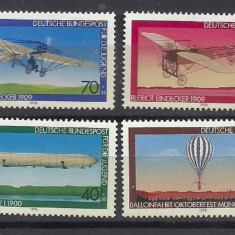 GERMANIA 1978 – AVIATIE, serie MNH, SD212