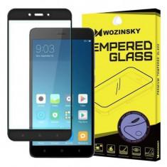 Folie Sticla Wozinsky 3D Soft Neagra Pentru Xiaomi Redmi Note 4X Redmi Note 4 Versiunea Snapdragon global