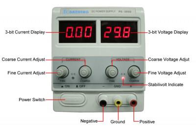 Sursa tensiune reglabila 0 - 30V 5A Afisaj consum curent AF-110118-15 foto