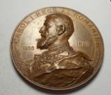 Medalie Regele Carol I 1866-1891 - 25 ani de domnie  SUPERBA