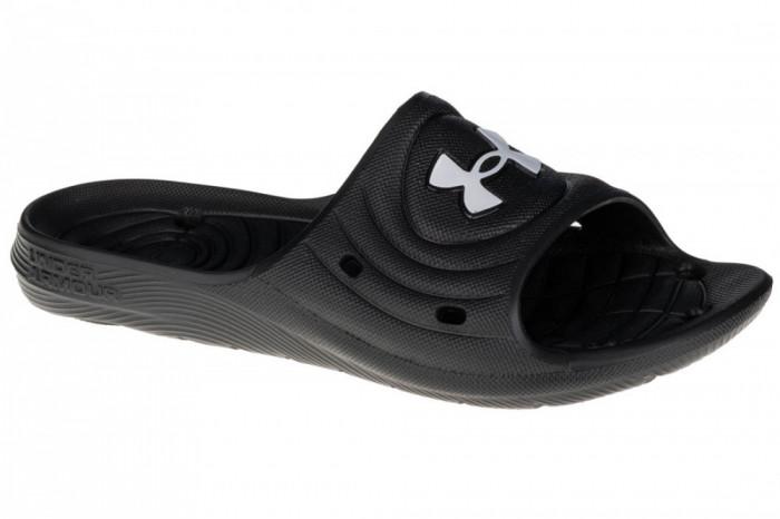 Papuci flip-flop Under Armour Locker IV SL 3023758-001 negru
