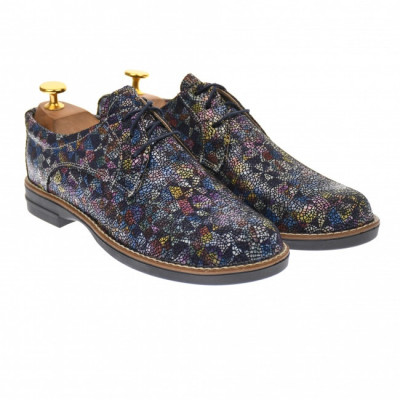 Oferta marimea 40 - Pantofi dama casual de toamna, din piele naturala - LP102NCOLOR foto