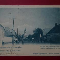 Salutare din Caransebes Biserica cimeteriului gr.or.roman 1899, Circulata, Printata