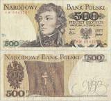 1976 (15 VI), 500 Zlotych (P-145b) - Polonia