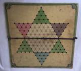 Tabla de joc veche, vintage, sah / checkers - sah chinezesc, J.W. SAS Bavaria