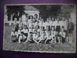 HOPCT 322 M  PIONIERI IN TABARA BUDILA BRASOV-IN  1968 -FOTOGRAFIE VECHE-TIP  CP