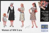 + Macheta MAsterbox 35148 1:35 - Women of WW II era +