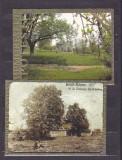 ROMANIA 2003 - TEIUL LUI EMINESCU/MUZEUL M. EMINESCU. 2 ILUSTRATE MNH. FD93, Necirculata, Fotografie, Botosani