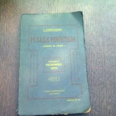 PE CAILE PROFETILOR - I. CHIRU NANOV VOL.I CONSTANTINOPOLUL. EGIPTUL