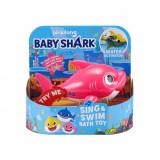 Jucarie interactiva Baby Shark Rechin, Roz