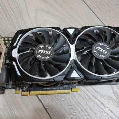 Placa Video MSI Radeon RX 570 ARMOUR 4G OC DDR5-256Bit,PCI-e 3.0