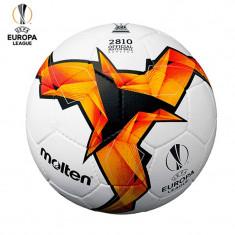 Minge fotbal Molten F5U2810, replica UEFA Europa LEAGUE, cusuta manual, piele PU
