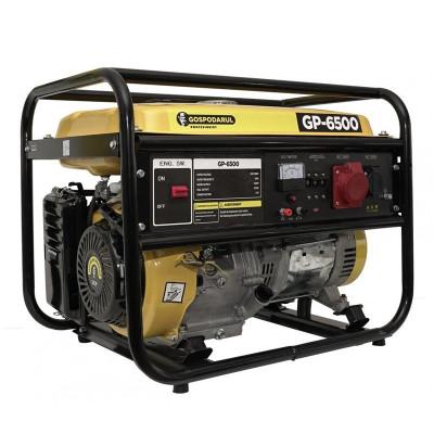 Generator trifazic pe benzina Gospodarul Profesionist, 5500 W, 25 l, 13 CP, 389 CC, motor 4 timpi, AVR foto