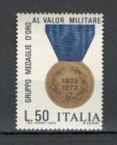 "Italia.1973 50 ani ""Medalia de aur meritul militar""  LX.171"