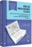 Fișe de procedură civilă 2019