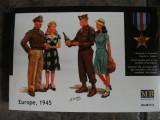+ Kit figurine 1/35 Masterbox 3567 - Europe, 1945 +