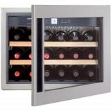 Vitrina frigorifica incorporabila Liebherr Premium WKEes 553, 47 l, 3 rafturi, Inox