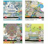 Carte de colorat pentru adulti (antistres)