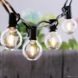 10 Bulbi retro cu incarcare solara