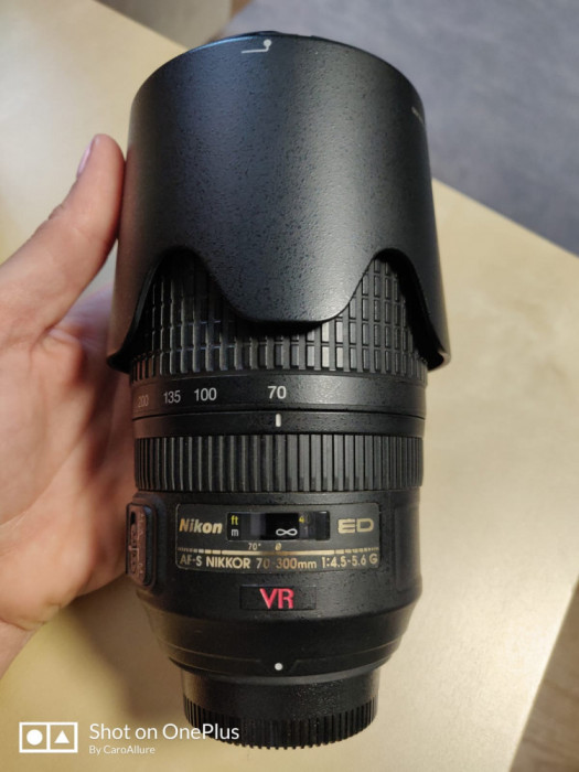 AF-S VR Zoom-Nikkor 70-300mm f/4.5-5.6G IF-ED - obiectiv foto